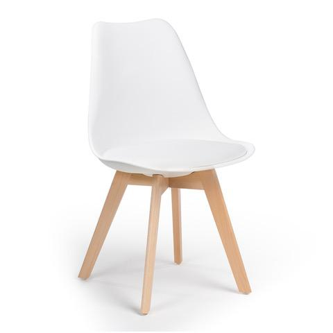 OSLO chaise scandinave blanche