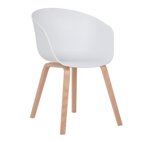 NORDIC chaise blanche