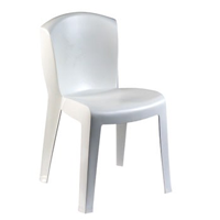EUROPA – chaise blanche